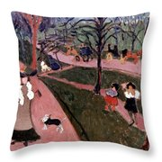 Derain: Hyde Park Throw Pillow