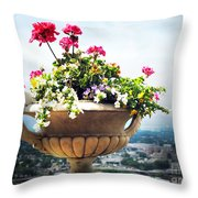 Derby Day Gala Throw Pillow