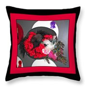 Derby Day Hat - 3 Throw Pillow