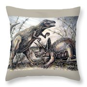 Derek Throw Pillow