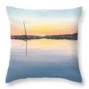 Derelict Of The Moors - II Throw Pillow