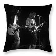Derringer 77 #48 Enhanced Bw Throw Pillow