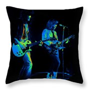 Derringer 77 #48 Enhanced In Cosmicolors Throw Pillow