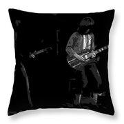 Derringer 77 #67 Enhanced Bw Throw Pillow