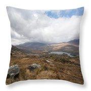 Derrynablunnago, Ireland Throw Pillow