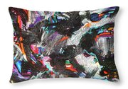 Dervish And The Rainbow  Throw Pillow