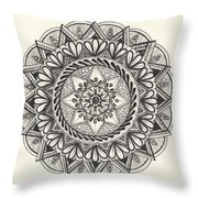 Des Tapestry Medallion Throw Pillow