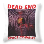 Desc2 Throw Pillow