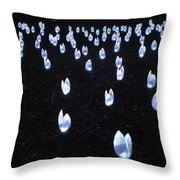 Descanso Gardens - Enchanted Forest Tulips Throw Pillow