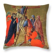 Descent From The Cross 1311 Throw Pillow