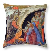 Descent Into Hell 1311 Throw Pillow