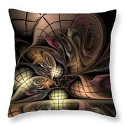 Describing Descartes Throw Pillow