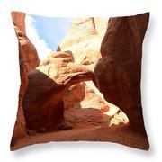 Desert Arch Throw Pillow