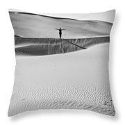 Desert Austerity Throw Pillow