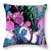 Desert Blush Throw Pillow