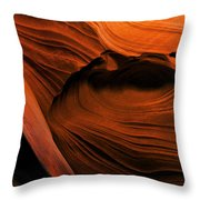 Desert Carvings Throw Pillow