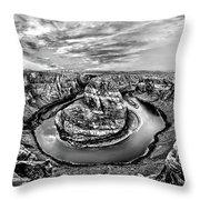 Desert Cauldron Throw Pillow