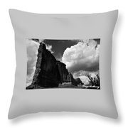 Desert Colossus Throw Pillow