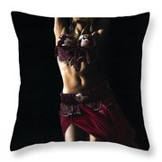 Desert Dancer Throw Pillow by Richard Young
