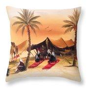 Desert Delights Throw Pillow