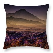Desert Dreams Throw Pillow
