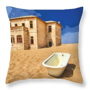 Desert Dreamscape 3 Throw Pillow