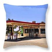 Desert Gas Throw Pillow