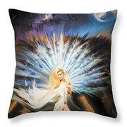 Desert Goddess Throw Pillow