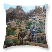 Desert Gypsy's Throw Pillow