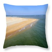 Desert Island Throw Pillow