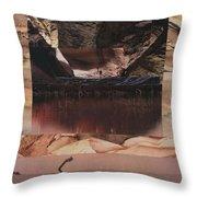 Desert Light - Bgdel Throw Pillow