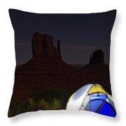 Desert Night Throw Pillow