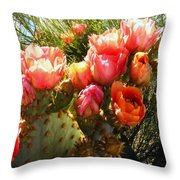 Desert Perfection Throw Pillow