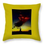Desert Phantom Throw Pillow