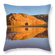 Desert Pools Throw Pillow by Mike  Dawson