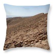 Desert Rock Throw Pillow