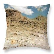 Desert Sand And Rock Throw Pillow