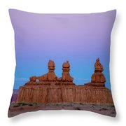 Desert Sisters Throw Pillow