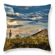 Desert Sky - San Tan Arizona Throw Pillow