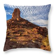 Desert Spire Throw Pillow