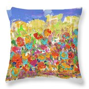 Desert Stars Throw Pillow