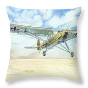 Desert Storch Throw Pillow