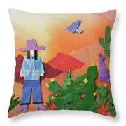 Desert Sunrise By Mary Ellen Palmeri Throw Pillow