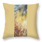Desert Surroundings 1 By Madart Throw Pillow by Megan Duncanson