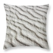 Desert Textures 1 Throw Pillow