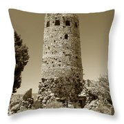 Desert Tower Work Number 2 Throw Pillow by David Lee Thompson