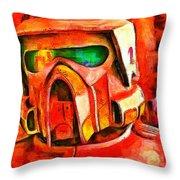 Desert Trooper - Pa Throw Pillow