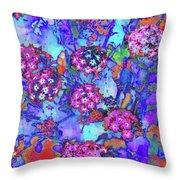 Desert Vibe Bloom Throw Pillow