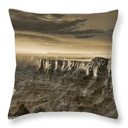 Desert View - Anselized Throw Pillow