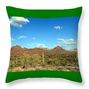 Desert View 340 Throw Pillow